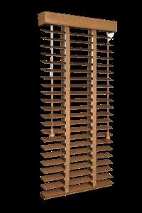żaluzje - drewniane 200x300